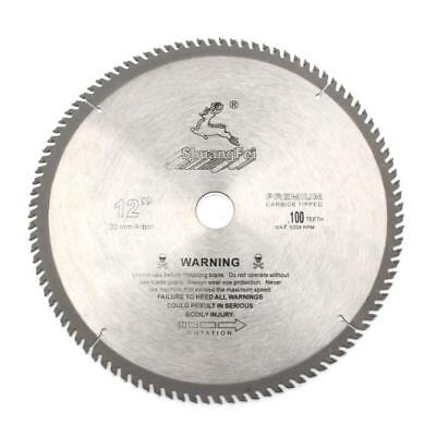 12 Inch Wood Or Aluminum Cutting 100teeth Saw Blade Circular Saw Blade Tct