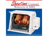 'NEW' Ronco Showtime Rotisserie and BBQ Oven with all the accessories