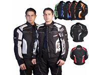 MOTORCYCLE /SCOOTER JACKETS WE HAVE THEM ALL ,CLASSIC-TOURING-SPORT-ETC FROM £59.99 AT KICKSTART