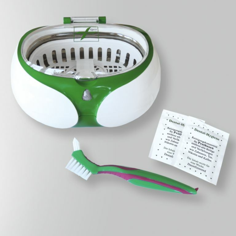 Dental Ultraschall Reinigungsgerät für Dritte Zähne, Spangen, netzbetrieben