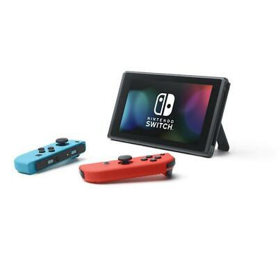 Brand New Nintendo Switch Console with Neon Red and Blue Joy-Con Fast Shipping