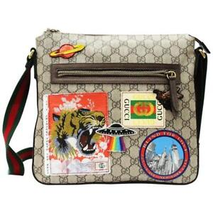 fc5eeba4aa3b Gucci Courrier Soft GG Supreme Messenger for sale online | eBay