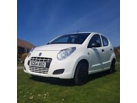 2014 Suzuki Alto sZ 1.0 petrol, White, manual, 5 door hatchback low miles 6000m tax free car