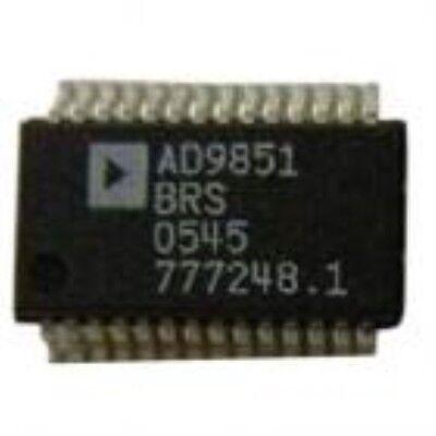 Ad Ad9851brs Ssop-28 Cmos 180 Mhz Ddsdac Synthesizer