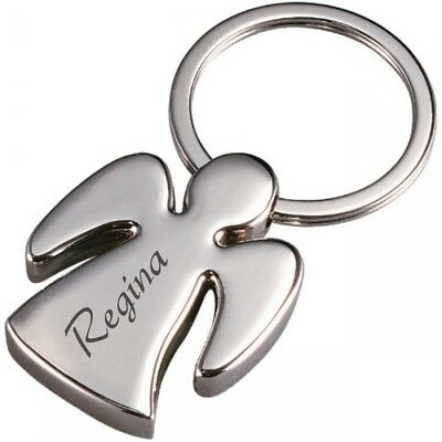Schutzengel Engel mit Gravur personalisiert  (Personalisierte Schlüssel)