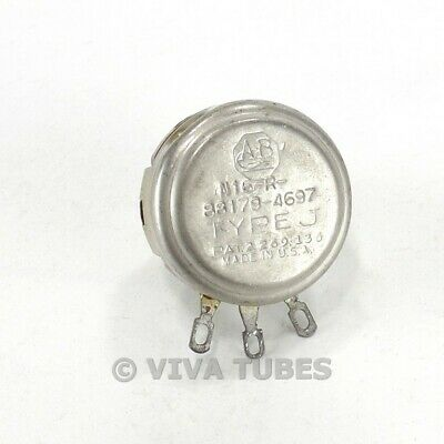 Vintage Allen-bradley N16-r-88179-4697 Type J Potentiometer 500k Ohm