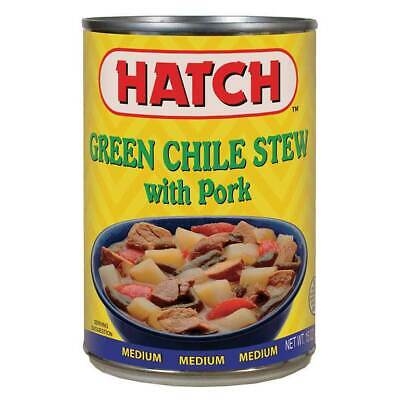 Hatch green chile stew with pork ( 6 pack )