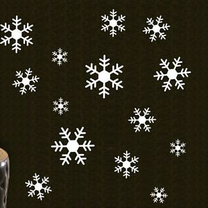 Large-Snowflakes-Christmas-Wall-Decals-Vinyl-Window-Sticker-Kids-Nursery-Decor