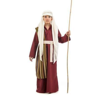 Josef Hirte Hirtenkostüm Kinder Jungen Kostüm Krippenspiel Kinderkostüm (Jungen Hirten Kostüm)