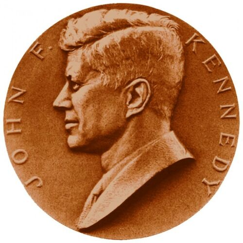 John F Kennedy Bronze Medal Official US Mint CP1080