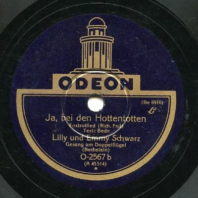 German Personality Discography volume 5. Film - cabaret - comic - Chanson  78rpm