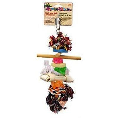 Penn Plax BA-923 for parrots and large birds includes six different chew Toys