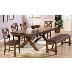 RUSTIC LAKESIDE Dinette Set @ Yvonne's Furniture