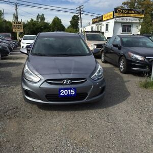 2015 Hyundai Accent FULLY CERTIFIED- MANUFACTUR'S FACTORY WARRAN