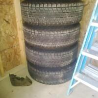 used winter tires and rims, 265/70/R17