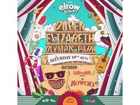 2x Elrow London Outdoor tickets. GLASGOW. £100