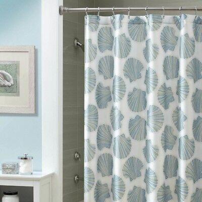 (Croscill Mosaic Shells Fabric Shower Curtain 70x72