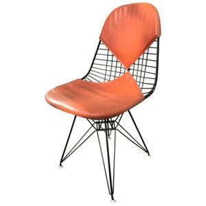 ORIGINAL MID-CENTURY WIRE BIKINI CHAIR BY CHARLES & RAY EAMES (