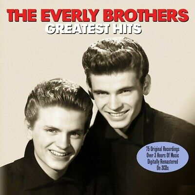 THE EVERLY BROTHERS - GREATEST HITS - 3 CDS - NEW!!