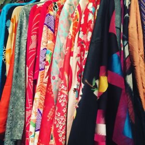 Kimono Sale!  All vintage from 1950-1990 Silk and Silk Blend