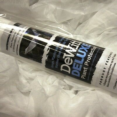 (DeWitt Deluxe 6'x50' .5oz Frost Freeze Cloth Thermal Blanket Seed Guard )