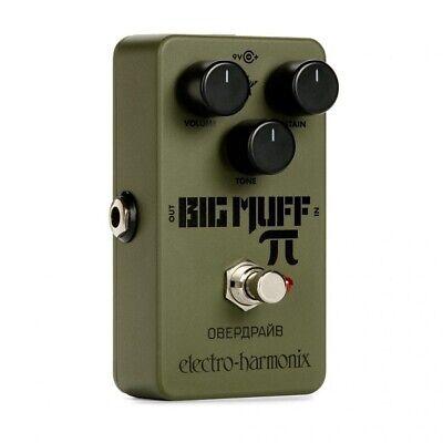 BRAND NEW UNUSED, Electro Harmonix Green Russian Big Muff Pi, FREE UK DELIVERY