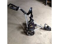 Surplus to requirements. Powerkaddy electric golf buggy with battery and charger £120