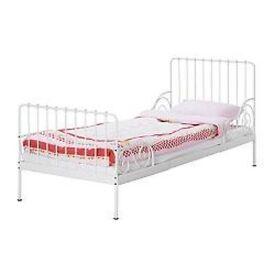 EX Ikea Kids metal extandable bed Used
