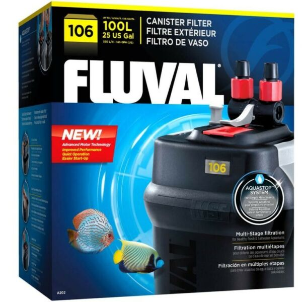 Brand-new filter for Fishtank: 106 Canister Filter, up to 100L