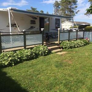 Park Model Trailer, sleeps 6, one owner well maintained,