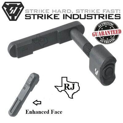 Strike Industries Billet Magazine Catch Black Mag Catch Release Button W Spring