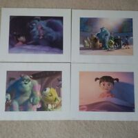 Monsters INC FOLDER with 4 prints $15