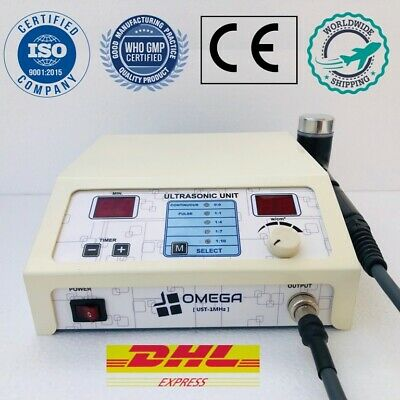 Omega Ultrasound Therapy 1 Mhz Ultrasonic Therapy Knee Joint Pain Relief Machine