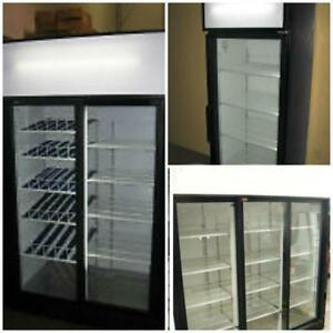 SLIDING GLASS DOOR DISPLAY REFRIGERATORS - OVER 20 AVAILABLE