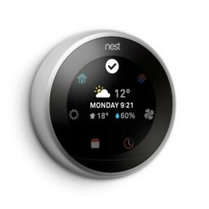 Nest Learning Thermostat- 3rd Generation (Works with Alexa)