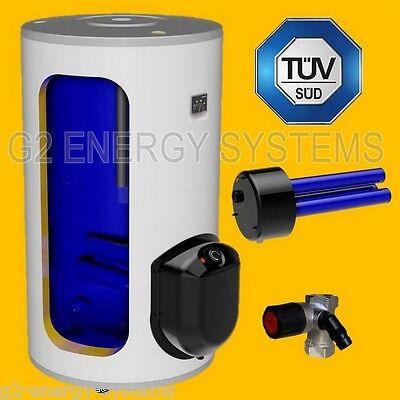 200 Liter L Elektrospeicher Boiler Standsspeicher mit 3-6 kW Heizleistung gebraucht kaufen  Hain