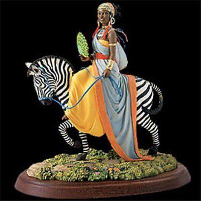 "Thomas Blackshear's Ebony Visions ""The African Queen"" Figurine NIB"