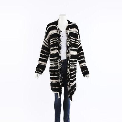Iris Von Arnim Barbara Hand Knit Cash Cardigan SZ M-L