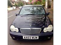 Mercedes Benz C180 2003 1.8L Auto 4 Door Saloon £1295 ono