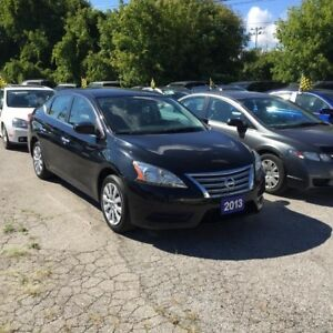 2013 Nissan Sentra 100% APPROVED-1.8L CVT FE+ Blutooth +++
