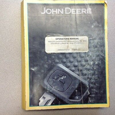 John Deere Greenstar Yield Monitor Yield Mapping Stystem Operators Manual