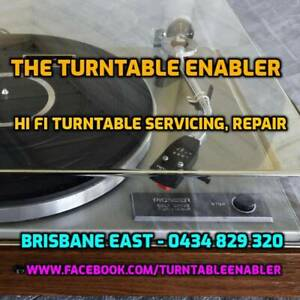 Turntable Repair Stereo Hi Fi LP Vinyl Record Vintage Audio