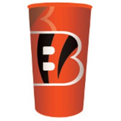 NFL Football Team Tailgating Party Supplies Re-useable Stadium 22 oz Cup Plastic (Nfl Party Supplies)