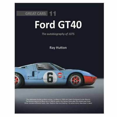 Ford GT40 The autobiography of 1075 book paper car