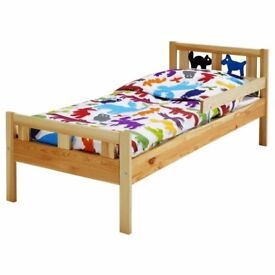 Rarely used Ikea kids bed and mattress for sale urgently