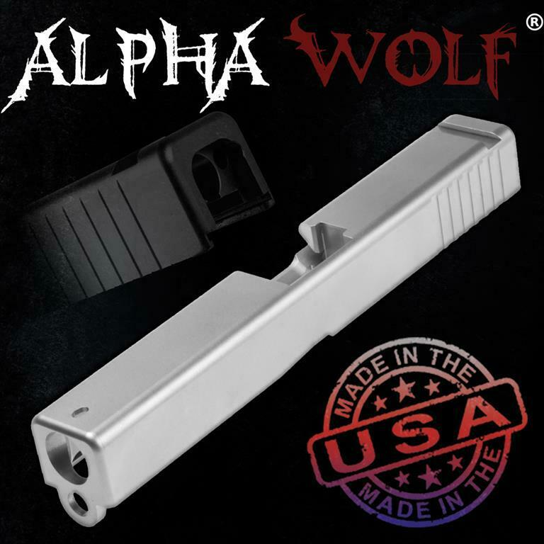 Lone Wolf AlphaWolf Slide for Glock 17 9mm Gen3, OEM