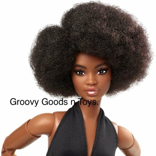 Barbie Signature Looks Doll 2021 #2 GTd91 Made to Move Curvy Elle NEW