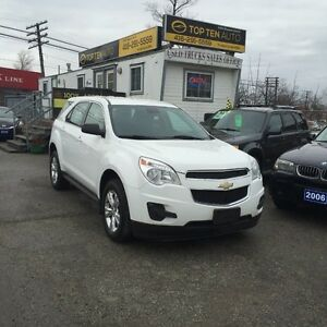 2012 Chevrolet Equinox FULLY CERTIFIED LOADED SUV 100% APPROVED
