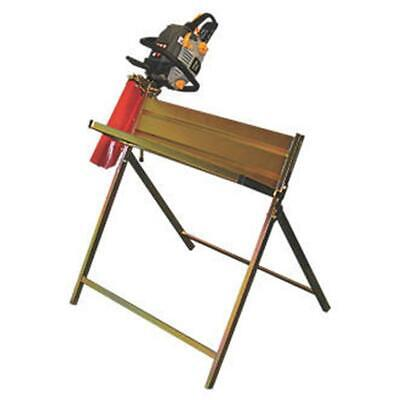 THE HANDY THSHWCS 25CM LOG CAPACITY LOG SAW HORSE WITH CHAINSAW SUPPORT