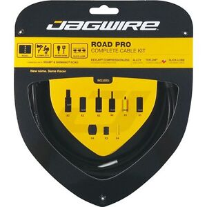 Jagwire-Road-Pro-Bike-Cable-Kit-Gear-Brake-Inner-Outer-All-Colours